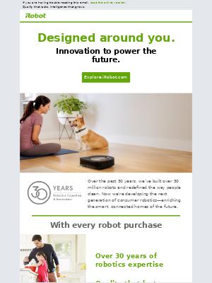 iRobot - iRobot® is developing the next generation of consumer robotics.