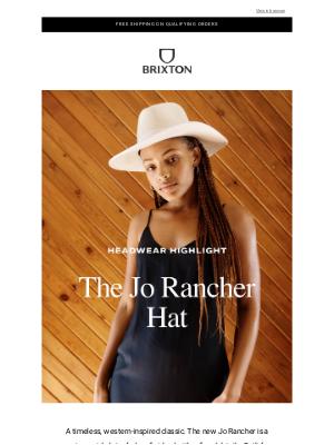 Brixton LLC - The Jo Rancher Hat