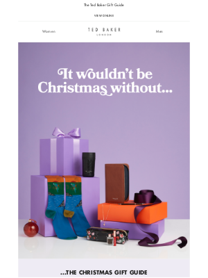 Ted Baker (UK) - It wouldn't be Christmas without...