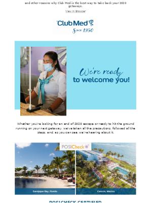 Club Med - We're Certified!