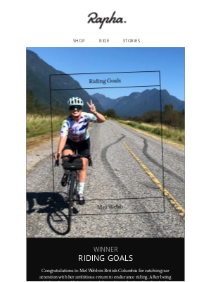 Rapha - Riding Goals – Rocky Ambitions