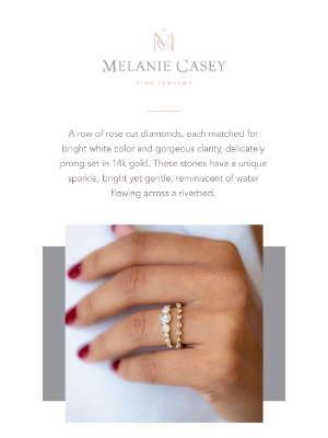Melanie Casey - A diamond band like no other... 🌟