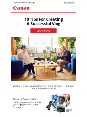 Canon - Create the Content You Love