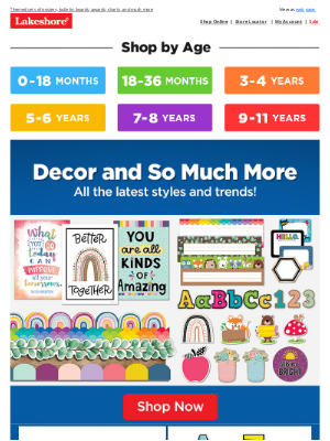 Lakeshore Learning - 💖 4 Decor Themes to Love!