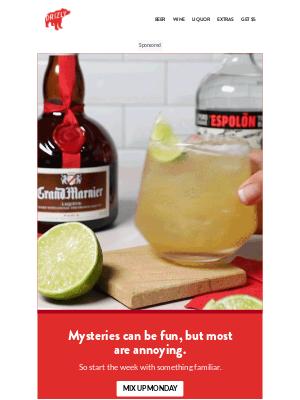 Drizly - Mix up Mondays with an Espolòn margarita.