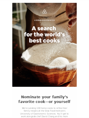 Win a cooking scholarship to Italy