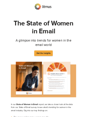 Litmus - True or false: Most email managers are women