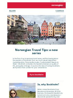 Norwegian Air Shuttle - Our team's tips for enjoying Stockholm to the full