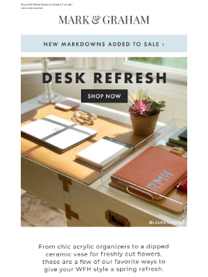 Mark and Graham - Give Your WFH Style A Spring Refresh