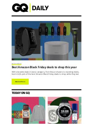 British GQ - Best Amazon Black Friday deals to shop this year
