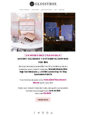 Glossybox - FLASH SALE ⚡ Click to reveal your exclusive offer