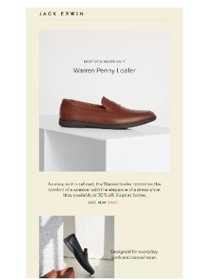 Sale Spotlight: Men's Warren Loafer