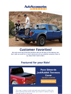 AutoAccessoriesGarage - Some of our customers' favorite items!