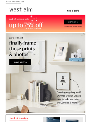 Frames for that gallery wall ✦ refresh! ✦ up to 40% off