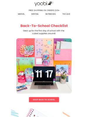 Yoobi - Back to School Must-Haves! 🎒