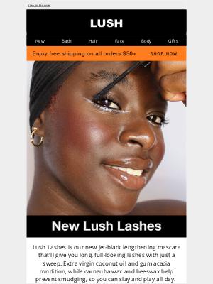 Lush North America - Meet our newest mascara