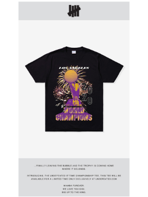 Undefeated - UNDEFEATED CHAMPIONS TEE AVAILABLE NOW