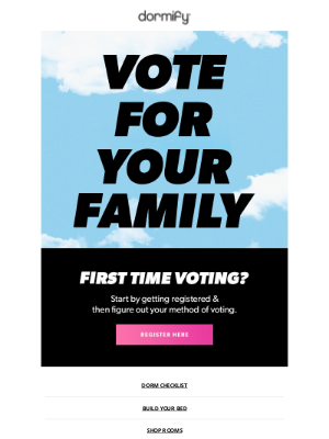 dormify - are you voting?