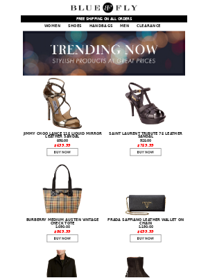 Bluefly - Trending Styles at Great Prices