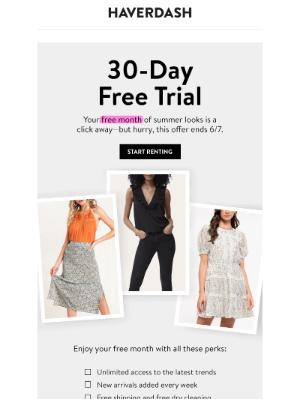 Haverdash - Grab your FREE trial ASAP