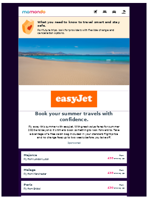 Summer is back on with easyJet ✈️