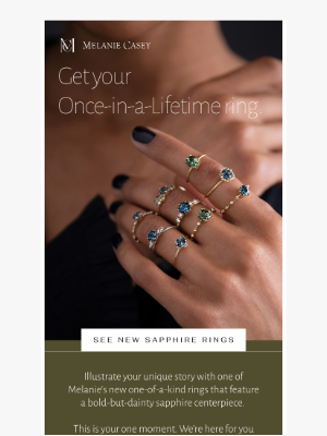 Melanie Casey - You've never seen these before 💍