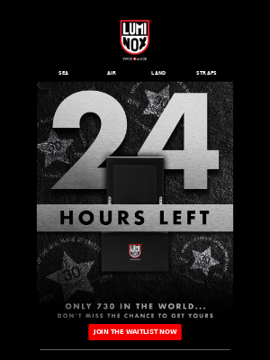 🚨24 HOURS LEFT UNTIL LAUNCH 🚨