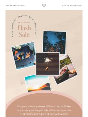 Social Print Studio - Flash sale ends at midnight! ⚡