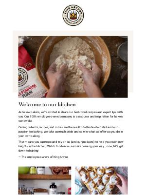 King Arthur Flour - Let's get baking!