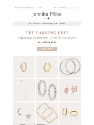Jennifer Miller Jewelry - Chic Earrings Under $250