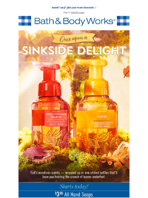 Bath & Body Works - 🍂📚 your fall fragrance story starts here...