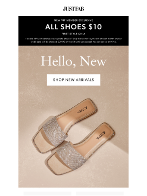 JustFab - The Wait Is Over: New Shoes!