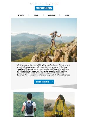 Decathlon (UK) - Hiking Essentials 🥾