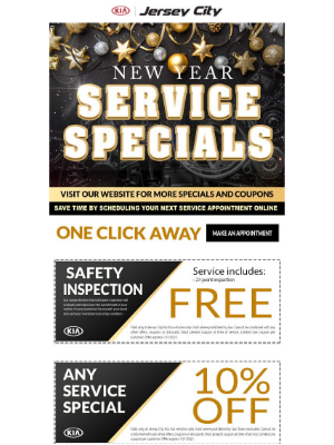 Kia Motors America - 😎Jersey City Kia for Fast, Quality and Convenient Maintenance service completed in 60 minutes or less!🚨Summer Service Specials‼