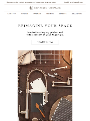 Signature Hardware - Inspiration for Your Home