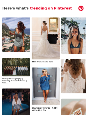 Summer, Weddings, and more Pins popular on Pinterest