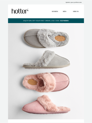 Hotter Shoes - Slip into the softest comfort