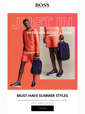 HUGO BOSS - Just In: Vacation-Ready Styles