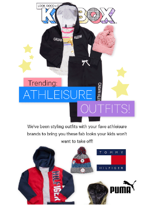 NEW Athleisure Outfits!