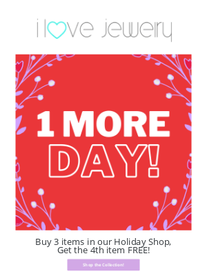 I Love Jewelry - 💘 1 more day of FREE Pajamas 💘