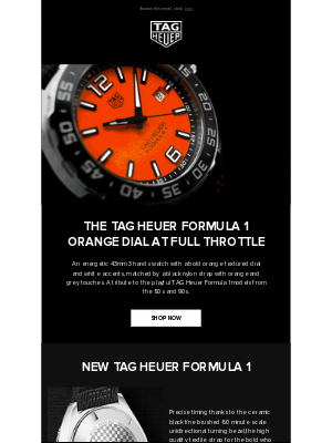 TAG Heuer - TAG Heuer Formula 1: Fueled by Passion