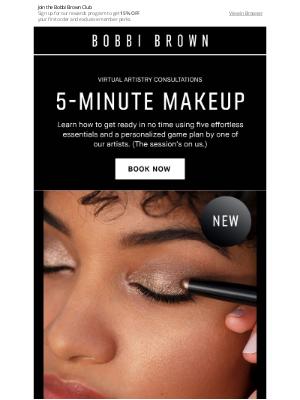 Bobbi Brown Cosmetics - Take five