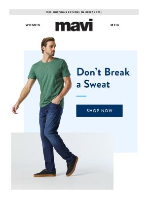 Mavi - Don't Break a Sweat