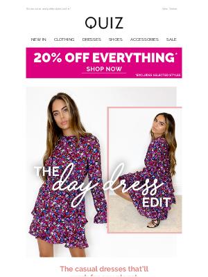 Quiz Clothing (UK) - The day dress edit 👗