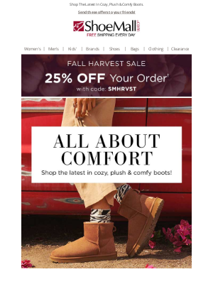 ShoeMall - This Just In . . . New Cozy Boots!