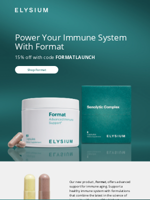 Elysium Health - What goes into the unique formula in Format?