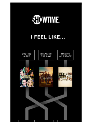Showtime Networks - So many options to kick off your offer