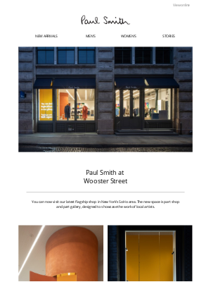 Paul Smith - Paul Smith at Wooster Street, New York