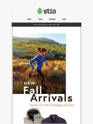 Stio - They're In! Shop New Fall Arrivals