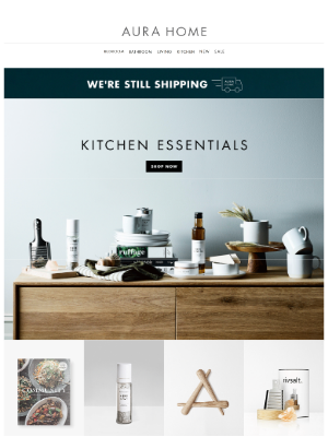Aurahome - 📣 Kitchen, Bathroom & Laundry Essentials. We've got you covered! 📣